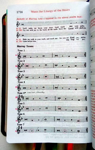 graphic relating to Printable Liturgy of the Hours Guide named Various strategies in direction of sing the Psalms