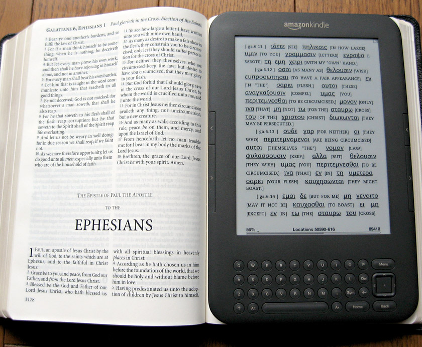 Ministry Technology: Using Kindle For Ministry