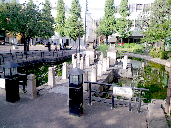 park with pond