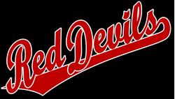 team pride red devils team script logo rh stutler cc  red devil logo download