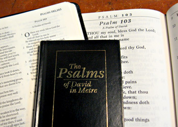 Several ways to sing the Psalms